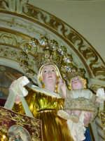 Artistico simulacro della Madonna del Carmine, posto sull'altare maggiore.   - Pisano etneo (3283 clic)
