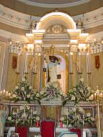 Simulacro di Maria SS. del Carmelo sull'altare Maggiore nel giorno della festa ( 16 Luglio ).  - Riposto (2495 clic)