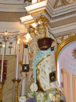 Simulacro di Maria SS. del Carmelo sull'altare Maggiore nel giorno della festa ( 16 Luglio ).  - Riposto (2231 clic)