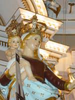 Simulacro di Maria SS. del Carmelo sull'altare Maggiore nel giorno della festa ( 16 Luglio ).  - Riposto (2308 clic)