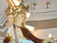 Simulacro di Maria SS. del Carmelo sull'altare Maggiore nel giorno della festa ( 16 Luglio ).  - Riposto (2441 clic)