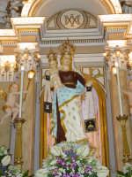 Simulacro di Maria SS. del Carmelo sull'altare Maggiore nel giorno della festa ( 16 Luglio ).  - Riposto (2362 clic)