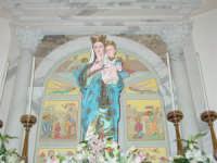 Simulacro di Maria SS. delle Grazie sull'altare Maggiore nel giorno della festa ( Luglio ).  - Carrubba di giarre (3565 clic)