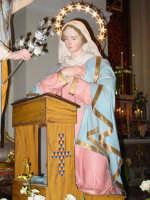Simulacro di Maria SS. Annunziata sull'altare Maggiore nel giorno della festa ( Aprile ).  - Nunziata di mascali (4089 clic)