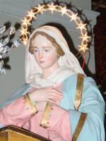Simulacro di Maria SS. Annunziata sull'altare Maggiore nel giorno della festa ( Aprile ).  - Nunziata di mascali (4342 clic)