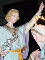 Simulacro di Maria SS. Annunziata sull'altare Maggiore nel giorno della festa ( Aprile ).  - Nunziata di mascali (3756 clic)