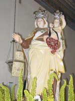 Simulacro di Maria SS. del Carmelo nella chiesa madre nel giorno della festa ( Luglio ).  - Calatabiano (2012 clic)