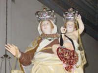 Simulacro di Maria SS. del Carmelo nella chiesa madre nel giorno della festa ( Luglio ).  - Calatabiano (2095 clic)