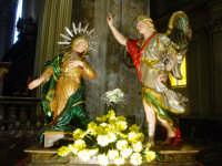 Artistico simulacro di Maria SS. Annunziata esposto nella Cattedrale nel giorno della festa.  - Acireale (1506 clic)
