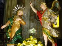 Artistico simulacro di Maria SS. Annunziata esposto nella Cattedrale nel giorno della festa.  - Acireale (1861 clic)