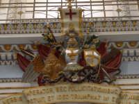 Insieme di fregi sotto la cantoria nella chiesa di S. Giorgio.  - Modica (2140 clic)