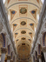 Navata centrale della chiesa di S.Pietro a Modica. MODICA Salvo Parisi
