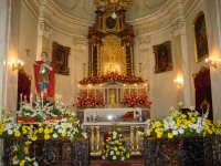 Chiesa dell'Oratorio: Sant'Espedito martire sull'altare maggiore. Festa liturgica il 19 Aprile.  - Giarre (4106 clic)