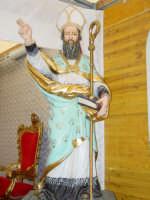 Maestoso simulacro di S.Antonio Abate nella Chiesa tenda nel giorno della festa ( 17 Gennaio ).  - San leonardello di giarre (2803 clic)