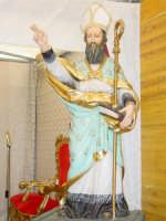Maestoso simulacro di S.Antonio Abate nella Chiesa tenda nel giorno della festa ( 17 Gennaio ).  - San leonardello di giarre (2767 clic)