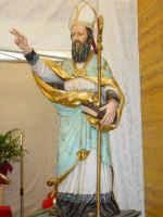 Maestoso simulacro di S.Antonio Abate nella Chiesa tenda nel giorno della festa ( 17 Gennaio ).  - San leonardello di giarre (2980 clic)