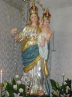 Simulacro della Madonna della libertà nel giorno della festa.  - San leonardello di giarre (2861 clic)