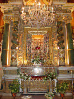 Cappella di San Placido, dove durante l'anno è riposto il simulacro del santo.  - Biancavilla (1907 clic)