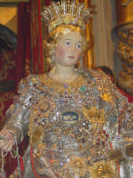 Busto reliquiario di Santa Venera, nel giorno della festa ( 26 Luglio ).  - Acireale (1827 clic)