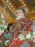 Statua di San Vito Martire sul Fercolo il Giorno della Festa.  - Mascalucia (2332 clic)