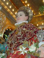 Statua di San Vito Martire sul Fercolo il Giorno della Festa.  - Mascalucia (2357 clic)
