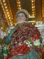 Statua di San Vito Martire sul Fercolo il Giorno della Festa.  - Mascalucia (2996 clic)