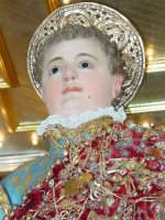 Statua di San Vito Martire sul Fercolo il Giorno della Festa.  - Mascalucia (3678 clic)