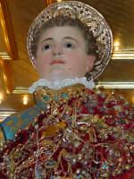 Statua di San Vito Martire sul Fercolo il Giorno della Festa.  - Mascalucia (2412 clic)
