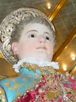 Statua di San Vito Martire sul Fercolo il Giorno della Festa.  - Mascalucia (5165 clic)