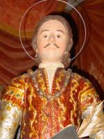 Statua di San Zenone esposta alla venerazione nella cappella di S. Placido.  - Biancavilla (2074 clic)