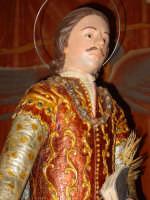 Statua di San Zenone esposta alla venerazione nella cappella di S. Placido.  - Biancavilla (2358 clic)