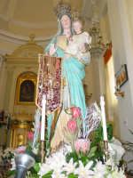 Festa della Madonna di Portosalvo: simulacro della madonna.  - Altarello di giarre (6120 clic)