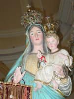Festa della Madonna di Portosalvo: simulacro della madonna.( particolare ).  - Altarello di giarre (4157 clic)