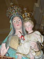 Festa della Madonna di Portosalvo: simulacro della madonna.( particolare ).  - Altarello di giarre (5934 clic)