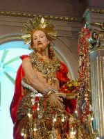 Simulacro di S. Giovanni Battista sull'altare maggiore nel giorno della festa ( 24 Giugno ).  - Aci trezza (2515 clic)