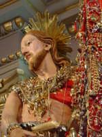 Simulacro di S. Giovanni Battista sull'altare maggiore nel giorno della festa ( 24 Giugno ).  - Aci trezza (2180 clic)