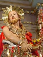 Simulacro di S. Giovanni Battista sull'altare maggiore nel giorno della festa ( 24 Giugno ).  - Aci trezza (2483 clic)