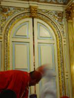 Cappella di S. Sebastiano il momento della svelata.  - Santa venerina (2209 clic)