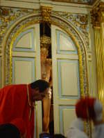 Cappella di S. Sebastiano il momento della svelata.  - Santa venerina (2225 clic)