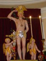 simulacro di S. Sebastiano sull'altare maggiore.  - Santa venerina (2468 clic)
