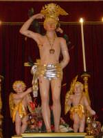simulacro di S. Sebastiano sull'altare maggiore.  - Santa venerina (2817 clic)