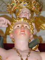 simulacro di S. Sebastiano sull'altare maggiore.  - Santa venerina (3458 clic)