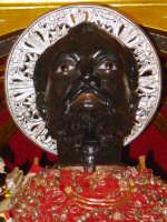 S. Filippo sul fercolo ( particolare).  - Calatabiano (2292 clic)