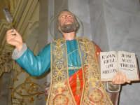 Statua di S.Matteo Apostolo nel giorno della festa esposta alla venerazione dei fedeli ( 21 Settembre ).  - Trepunti di giarre (3474 clic)
