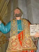 Statua di S.Matteo Apostolo nel giorno della festa esposta alla venerazione dei fedeli ( 21 Settembre ).  - Trepunti di giarre (3113 clic)