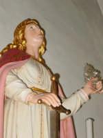 Statua di S. Domenica Vergine e Martire compatrona del paese festa l'ultima domenica di agosto.  - Santa domenica vittoria (5164 clic)