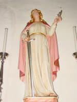 Statua di S. Domenica Vergine e Martire compatrona del paese festa l'ultima domenica di agosto.  - Santa domenica vittoria (4041 clic)