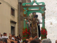 festa del patrono S. antonio Abate, uscita dalla chiesa ( prima domenica di settembre ).  - Santa domenica vittoria (6621 clic)