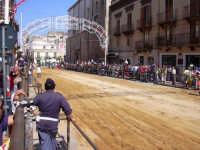 Corsa dei cavalli. Festeggiamenti in onore a Maria s.s. Dei Miracoli  - Alcamo (3426 clic)