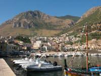 Monte Inici vista panoramica dal porto   - Castellammare del golfo (865 clic)